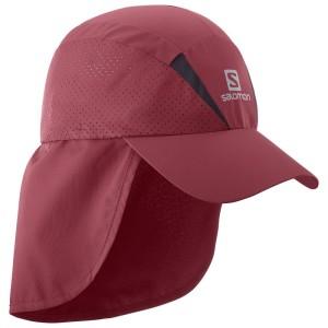 אביזרי ביגוד סלומון לנשים Salomon XA Plus Cap - אדום