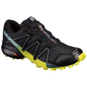 נעלי טיולים סלומון לגברים Salomon Speedcross 4 - שחור/צהוב
