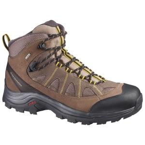 נעלי טיולים סלומון לגברים Salomon Authentic LTR GTX - חום