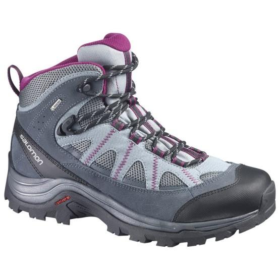 נעלי טיולים סלומון לנשים Salomon Authentic LTR GTX - אפור