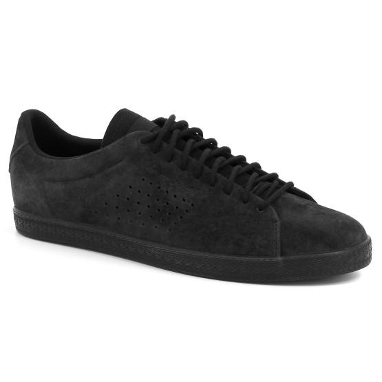 נעליים לה קוק ספורטיף לנשים Le Coq Sportif Charline Nubuck - שחור מלא