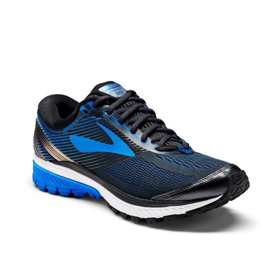 נעליים ברוקס לגברים Brooks Ghost 10 - שחור/כחול