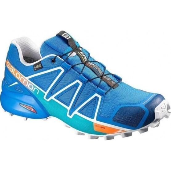 נעלי טיולים סלומון לגברים Salomon Speedcross 4 GTX - כחול