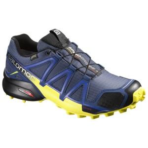מוצרי סלומון לגברים Salomon Speedcross 4 GTX - כחול כהה