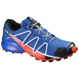 נעלי טיולים סלומון לגברים Salomon Speedcross 4 - כחול