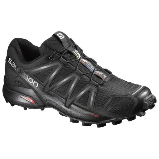 נעליים סלומון לגברים Salomon Speedcross 4 - שחור מלא