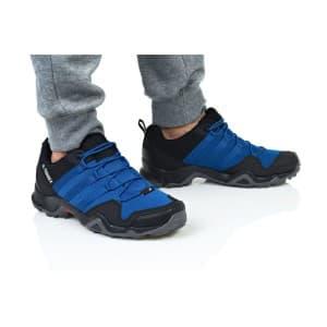 נעלי טיולים אדידס לגברים Adidas Terrex AX2R - כחול/שחור