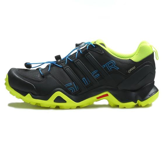 נעלי טיולים אדידס לגברים Adidas Terrex Swift R GTX - שחור/צהוב
