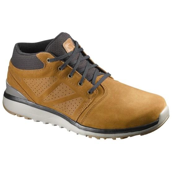 נעלי הליכה סלומון לגברים Salomon Utility Chukka - חום בהיר