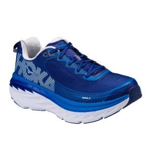 נעליים הוקה לגברים Hoka One One Bondi 5 - כחול/לבן