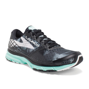 נעלי הליכה ברוקס לנשים Brooks Launch 3 - שחורטורקיז