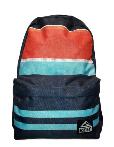 תיקי גב ריף לנשים Reef Moving On Backpack - כחול/כתום