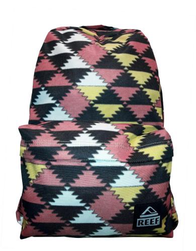 תיקי גב ריף לנשים Reef Moving On Backpack - ורוד/שחור