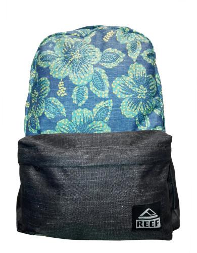 תיקי גב ריף לנשים Reef Moving On Backpack - שחור/תכלת