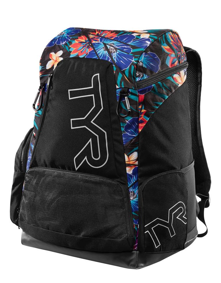 תיקי גב TYR לנשים TYR Alliance 45L Backpack - Lava - שחור/כחול
