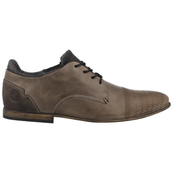 נעליים אלגנטיות בולבוקסר לגברים Bullboxer Gary - חום/אפור