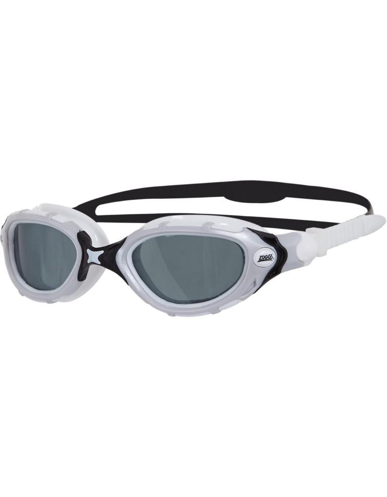 משקפי צלילה זוגס לנשים Zoggs Predator Flex Pol Ultra - אפור
