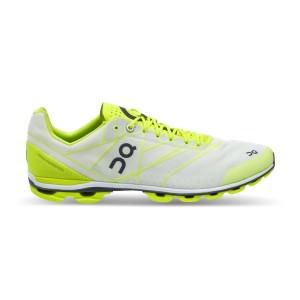 נעלי אימון און לגברים On CloudFlash - אפור/צהוב