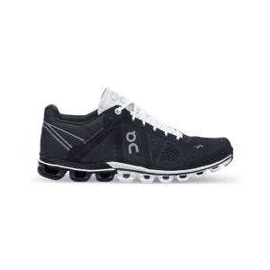 נעליים און לנשים On Cloudflow - שחור/לבן