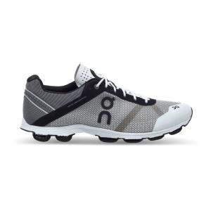נעלי אימון און לגברים On CloudRush - לבן/אפור