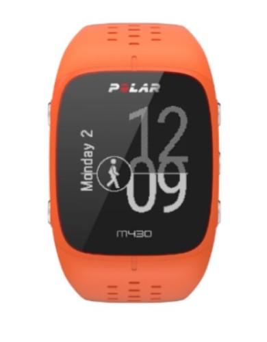 שעוני ספורט פולאר לנשים Polar M430 - כתום