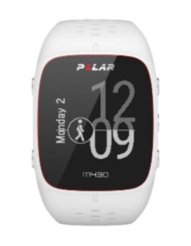 שעוני ספורט פולאר לנשים Polar M430 - לבן