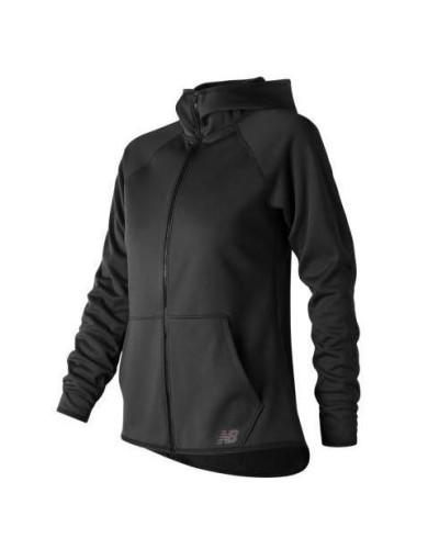 מוצרי ניו באלאנס לנשים New Balance CoreFleece Full Zip - שחור