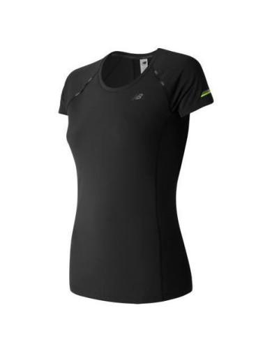 מוצרי ניו באלאנס לנשים New Balance Ice Short Sleeve - שחור