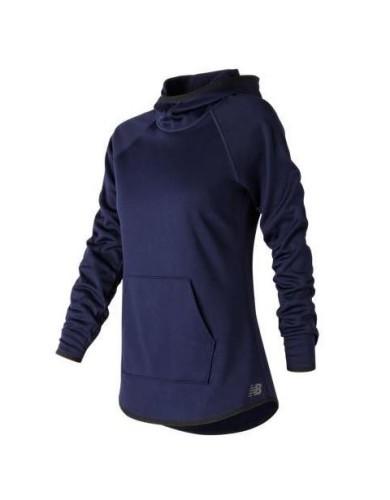 מוצרי ניו באלאנס לנשים New Balance NB CoreFleece Hoodie - כחול