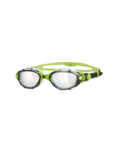 משקפי צלילה זוגס לנשים Zoggs Predator Flex Reactor Titanium - שחור/ירוק