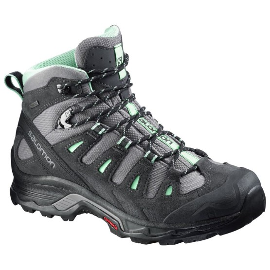 נעלי טיולים סלומון לנשים Salomon Quest Prime GTX - שחור/אפור