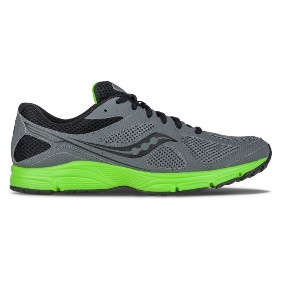 נעלי הליכה סאקוני לגברים Saucony Grid Lexicon 2 - אפור כהה
