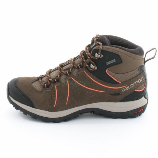 נעלי טיולים סלומון לנשים Salomon Ellipse 2 MID GTX - חום