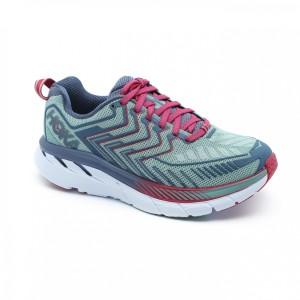 נעליים הוקה לנשים Hoka One One Clifton 4 Wide - סגול/כחול