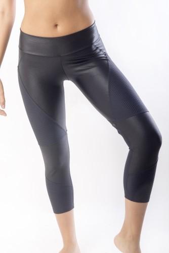 מוצרי ריו גים לנשים Rio Gym Biker Capri - שחור