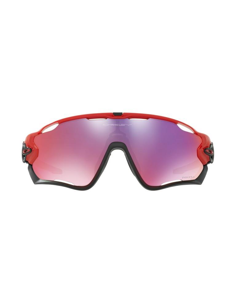 אביזרי ביגוד Oakley לגברים Oakley Jaw breaker prizm road - אדום/סגול