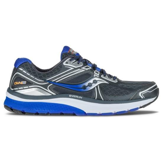 נעלי הליכה סאקוני לגברים Saucony Omni 15 - שחור/כחול