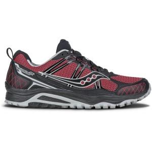 נעליים סאקוני לגברים Saucony Grid Excursion TR10 - שחור/אדום