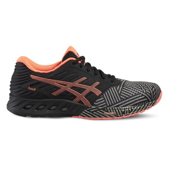 נעליים אסיקס לנשים Asics FuzeX - שחור/כתום