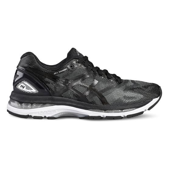 נעלי אימון אסיקס לנשים Asics GEL-Nimbus 19 - שחור/אפור