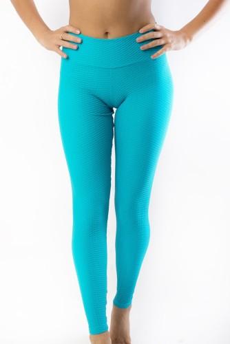 מוצרי ריו גים לנשים Rio Gym Vime Jade Legging - טורקיז