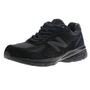 מוצרי ניו באלאנס לגברים New Balance M990 V4 - שחור מלא