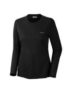 חולצת קולומביה לנשים Columbia Midweight II Long Sleeve Top - שחור