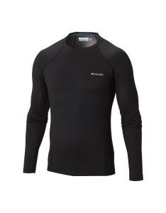 חולצת קולומביה לגברים Columbia Heavy Weight Stretch Long Sleeve - שחור