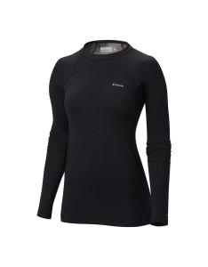 חולצת קולומביה לנשים Columbia Heavy Weight Stretch Long Sleeve - שחור
