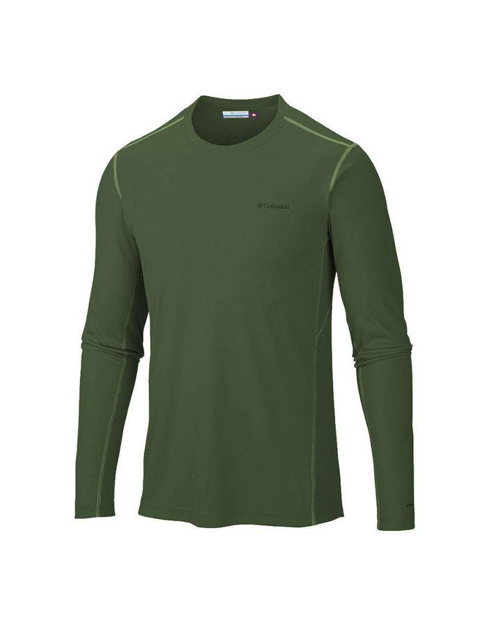 חולצת קולומביה לגברים Columbia Midweight II Long Sleeve Top - ירוק