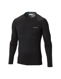 חולצת קולומביה לגברים Columbia Midweight Stretch Long Sleeve Top - שחור
