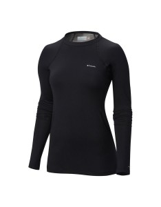 חולצת קולומביה לנשים Columbia Midweight Stretch Long Sleeve Top - שחור