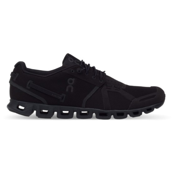 נעליים און לגברים On Cloud Black White - שחור פחם
