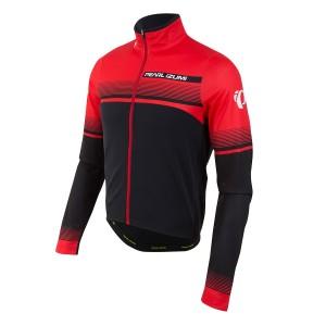 ביגוד פרל איזומי לגברים Pearl Izumi Pearl Izumi Select Thermal Ltd Jersey - שחור/אדום